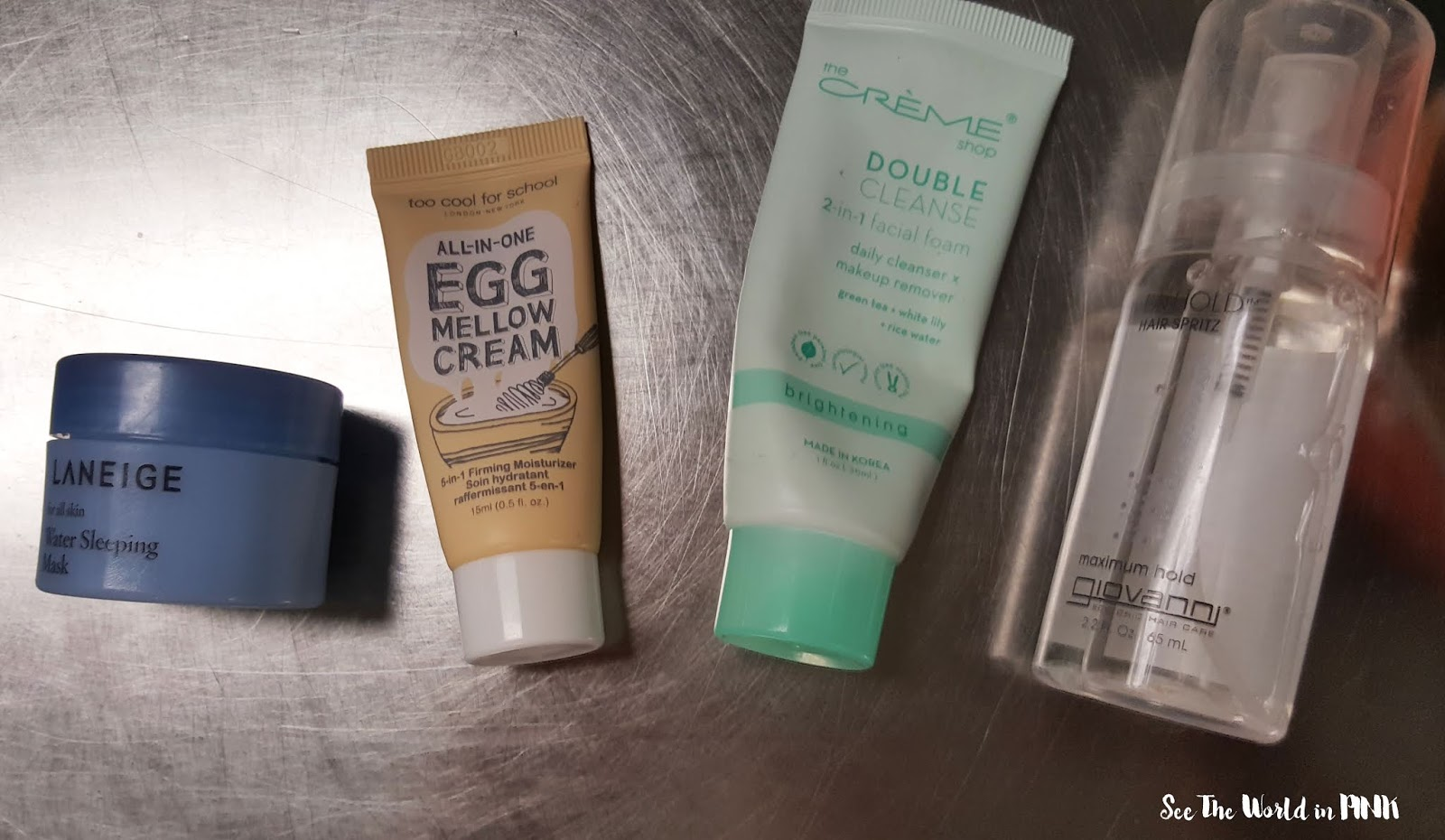 June 2019 - Monthly Empties and Month in Masks!