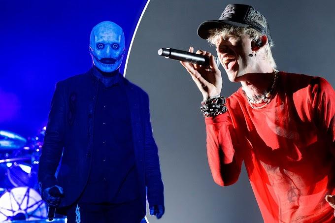 El rapero Machine Gun Kelly se burla de Slipknot