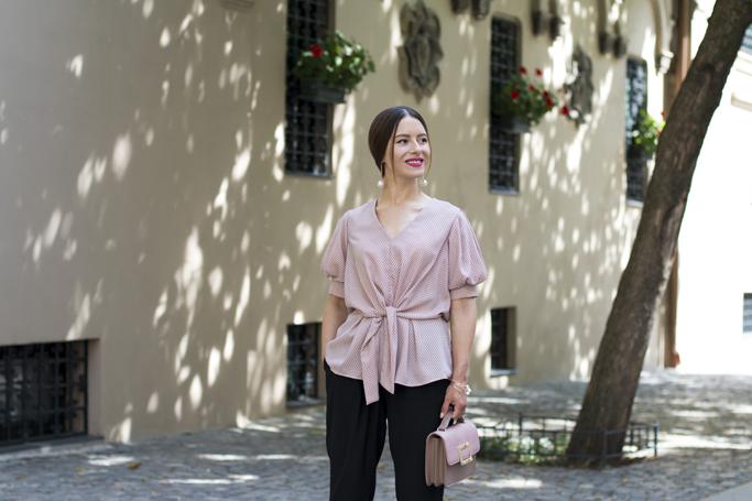 adina nanes pink blouse