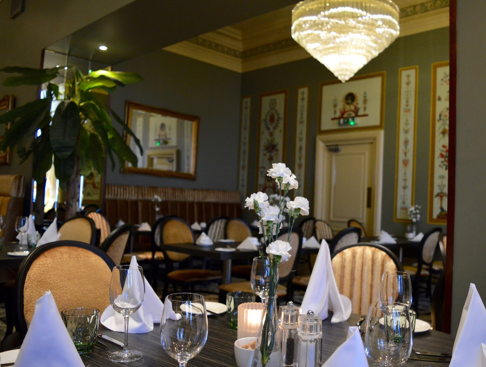 The Brasserie at the Grand Hotel, Tynemouth | New Tasting Menu review  - interior
