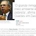 Guedes diz em Davos que são os pobres que destroem o meio ambiente no Brasil