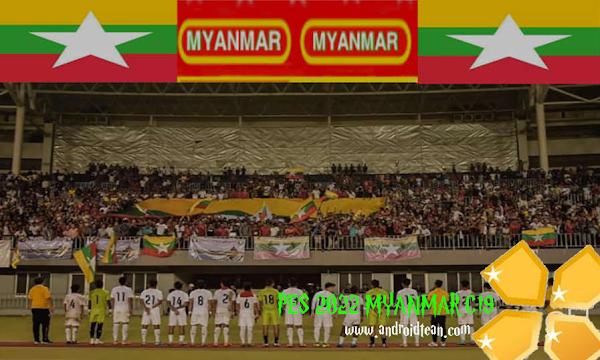 PES 2022 MYANMAR C19 Update Download