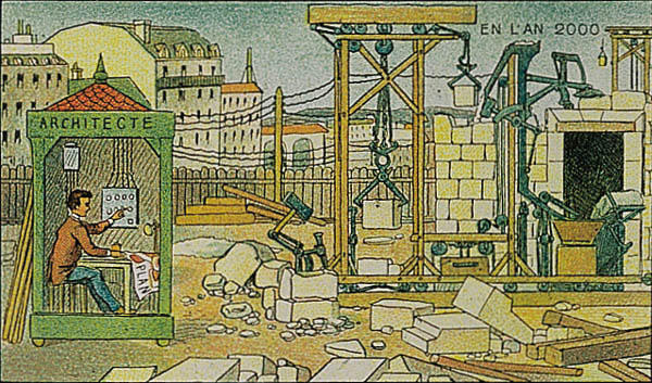 07-Electrical-Construction-Villemard-En-L-An-2000-wikimedia-Futurism-with-Illustrated-Postcards-from-the-1900s-www-designstack-co