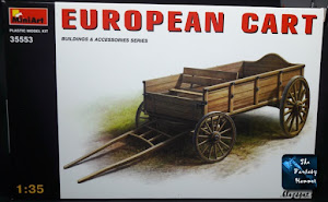 European Cart MiniArt unboxing