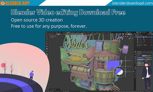 Blender Video editing Download Free