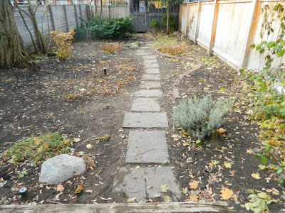 Cabbagetown Toronto Fall Backyard Garden Cleanup after by Paul Jung Gardening Services