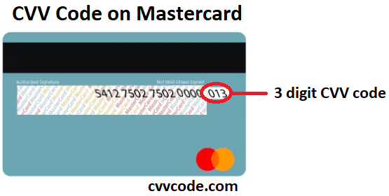 Find Credit Card CVV Code or CVV Number, CVV8 and CVC code on Amex
