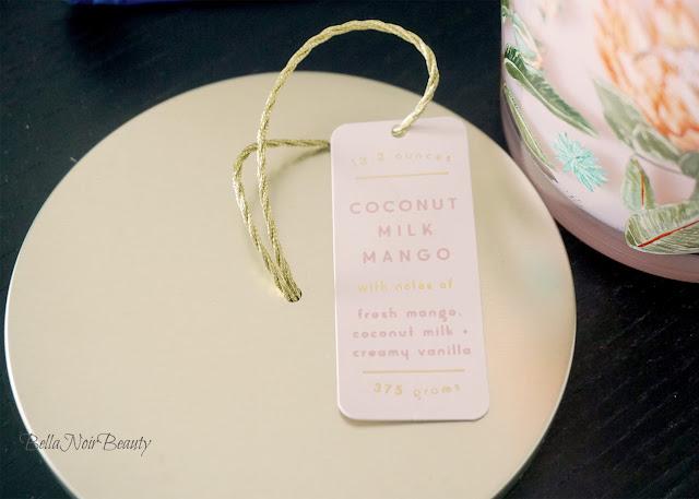 Illume Spring's Eden Coconut Milk Mango Candle | bellanoirbeauty.com