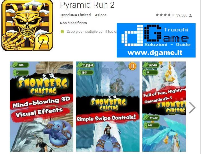 Trucchi Pyramid Run 2 Mod Apk Android v1.0.1