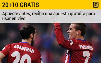 bwin apuesta gratuita 10 euros Real Madrid vs Atlético de Madrid 27 febrero