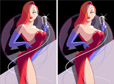 "Who Framed Roger Rabbit ""Jessica"" Screen Print by Craig Drake x Hero Complex Gallery"