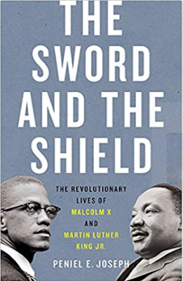 what i m reading: the sword and the shield: the revolutionary lives of malcolm x and martin luther king jr.