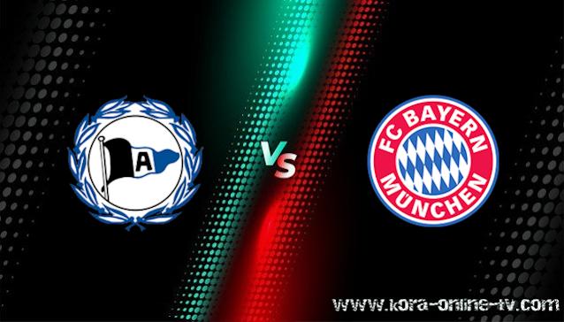 مشاهدة مباراة بايرن ميونخ وأرمينيا بيليفيلد بث مباشر الدوري الالماني