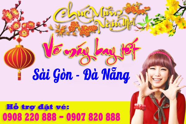 Vé máy bay tết Sài Gòn Đà Nẵng