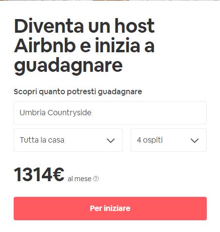 come iscriversi a Airbnb