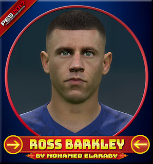 PES 2017 Faces Ross Barkley by M.Elaraby