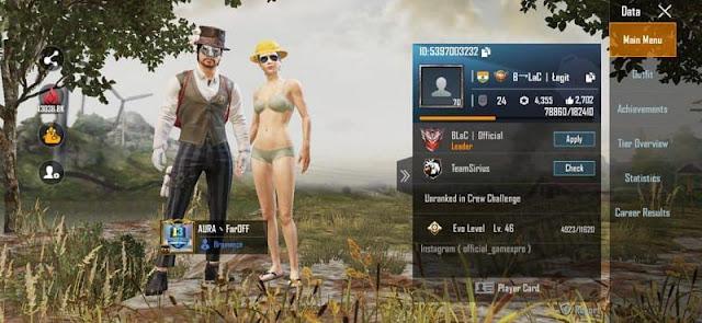 gamexpro pubg id