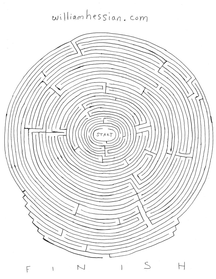 Bearded Bunny Blog: Free printable mazes