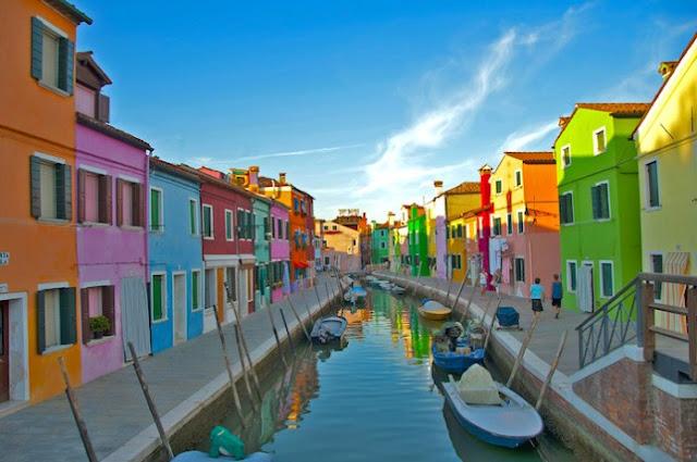 Passeio de barco pelas três ilhas da Lagoa em Veneza