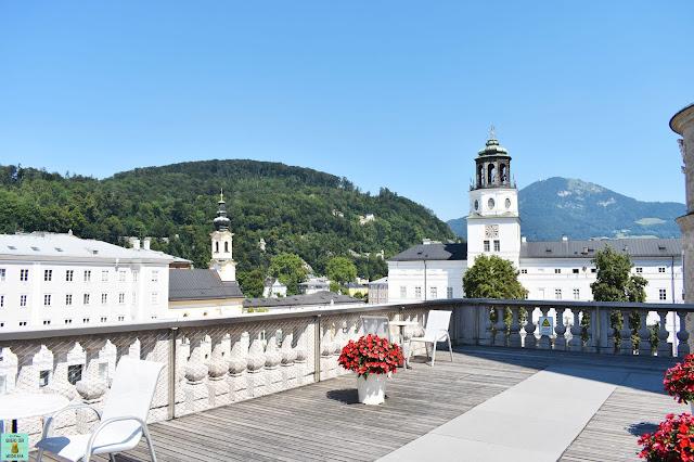 Terraza de los Arcos del DomQuartier en Salzburg