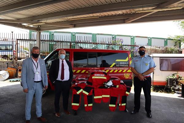 COPS assina protocolo de cooperação com Bombeiros Voluntários da Ajuda