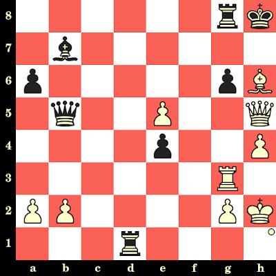 Les Blancs jouent et matent en 4 coups - Albin Planinec vs Nino Kirov, Maribor, 1977