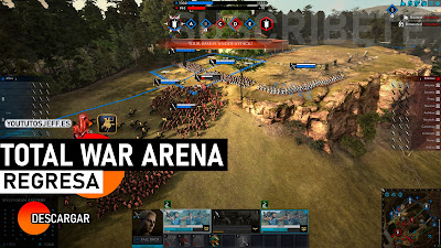 como descargar total war arena