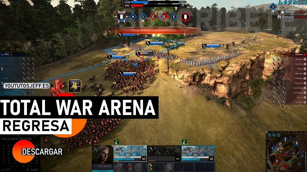 Descargar Total War Arena para PC GRATIS, INCREIBLE MULTIJUGADOR