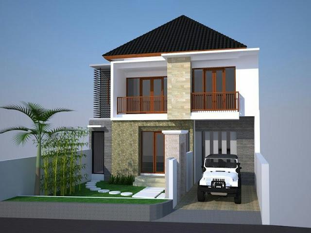 2 Floor House Design Type 54