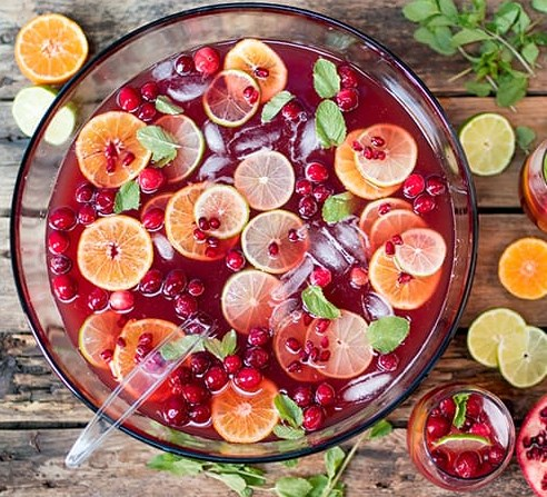 Christmas Day Punch #drinks #cocktails
