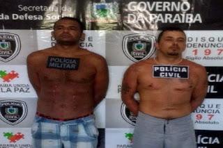 Secretaria de Segurança divulga detalhes da ação policial que recapturou dois foragidos da Cadeia Pública de Picuí