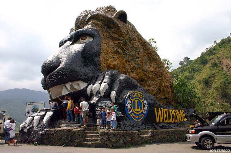 Lion's Head Near Baguio City Philippines