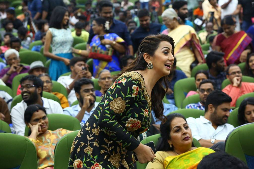 Nikki Galrani At Hara Hara Mahadevaki Movie Audio Launch Stills