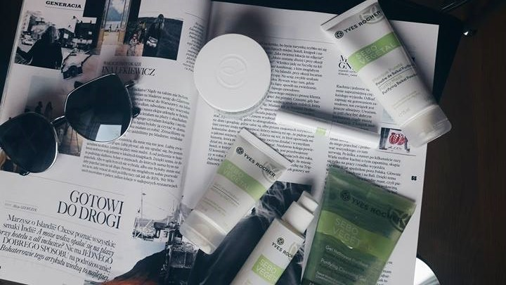 Kosmetyki Yves Rocher: gama Sebo Végétal dla cery tłustej i mieszanej