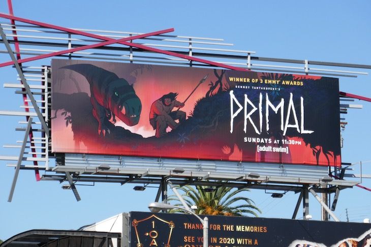 Primal season 1 part 2 billboard