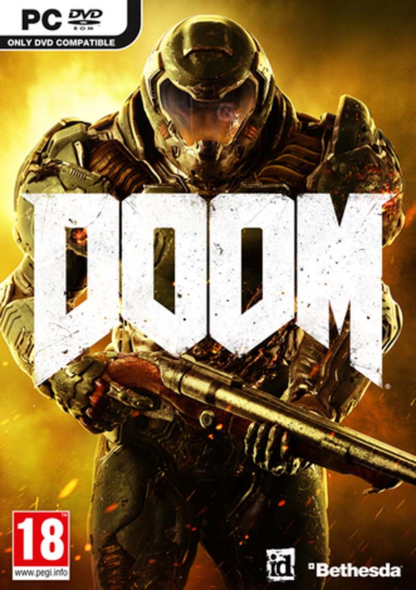 Doom 2016 Download Cover Free Game
