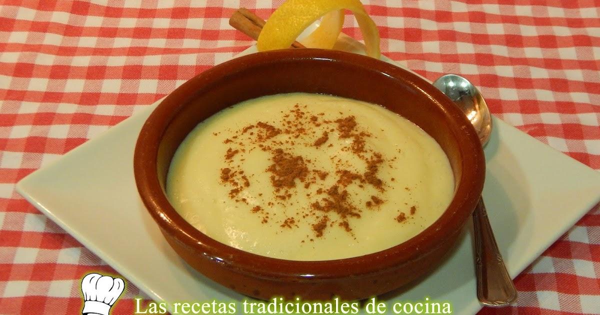 Receta f cil y r pida de natillas caseras recetas de - Cocina casera facil y rapida ...