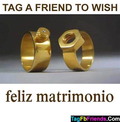 Happy marriage in Spanish language