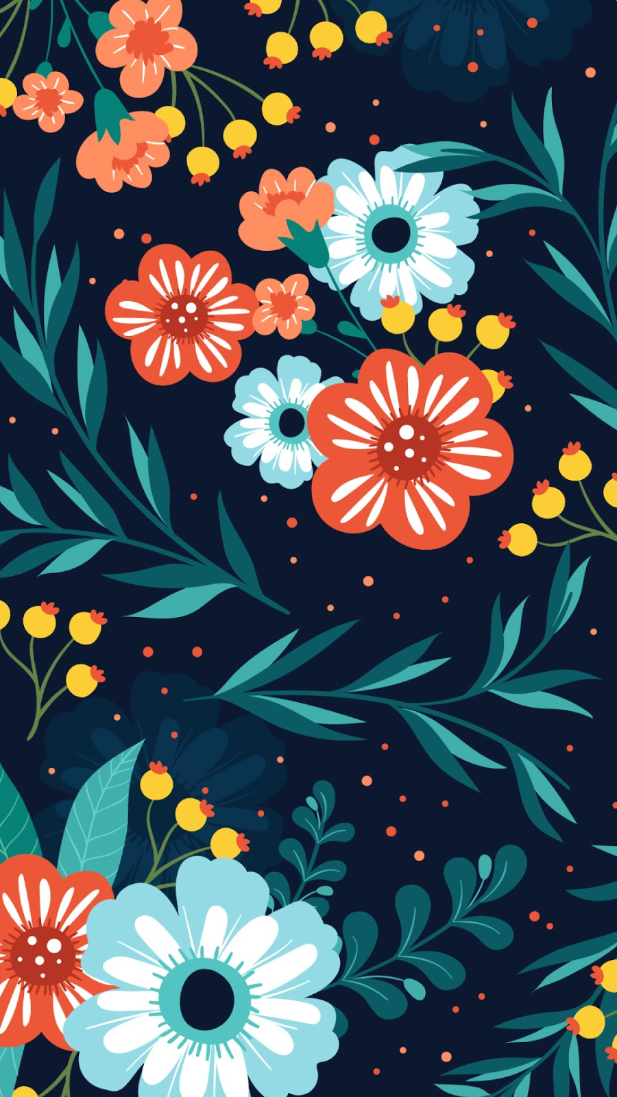 20 Vector Floral Wallpaper And Background Download Free Hd Images