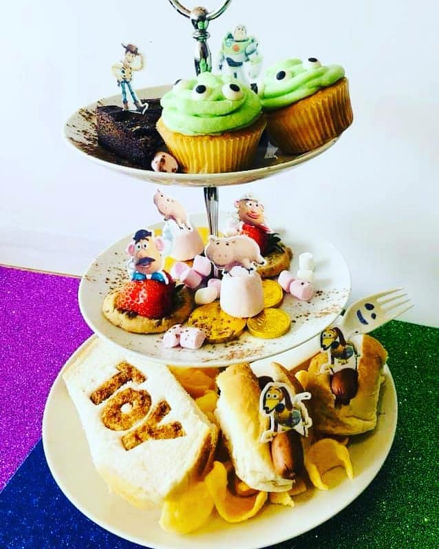 20+ Places you can book Children's Afternoon Tea in North East England - toy story theme olivias washington