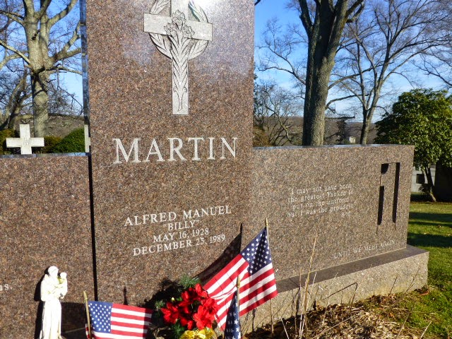billy martin grave - photo #16