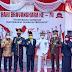Memperingati HUT Bhayangkara Ke-74,  Polres Kotabaru Gelar Upacara