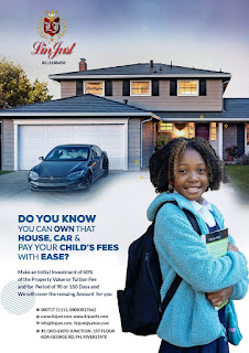 Do You Know You Can Own That House, Car , Asset and Pay Your Child's Fees with Ease?