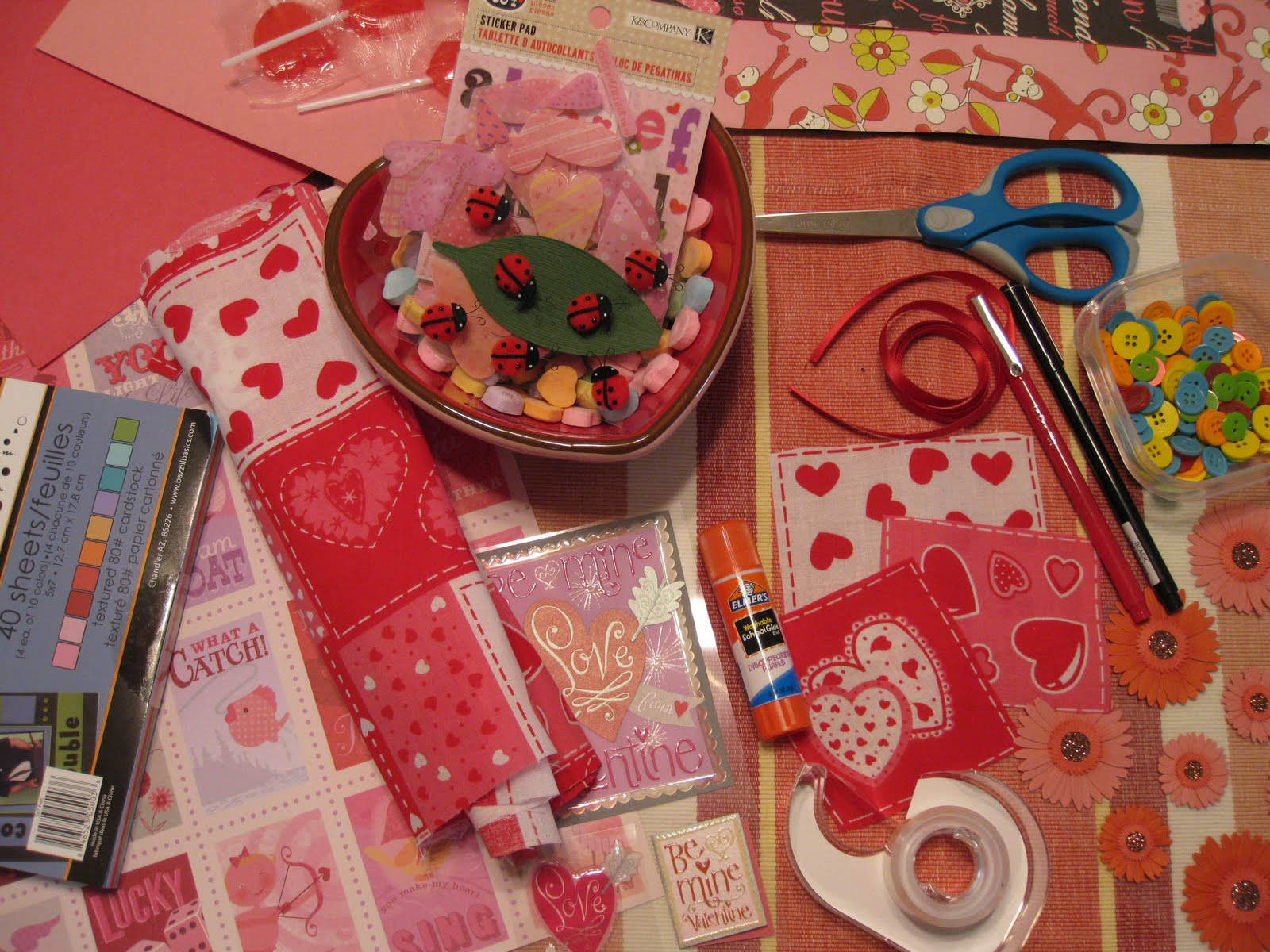 Homemade Valentines Day Card Ideas Valentine Craft Bag Ideas