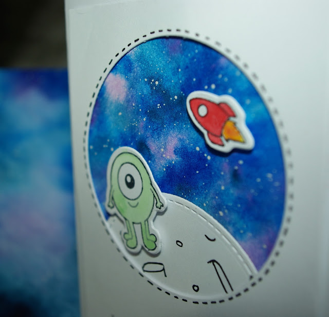 [DIY] Birthday Card Out Of This World