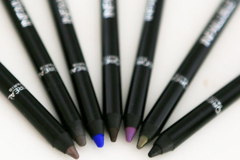 как красить стрелки  L'Oréal INFAILLIBLE