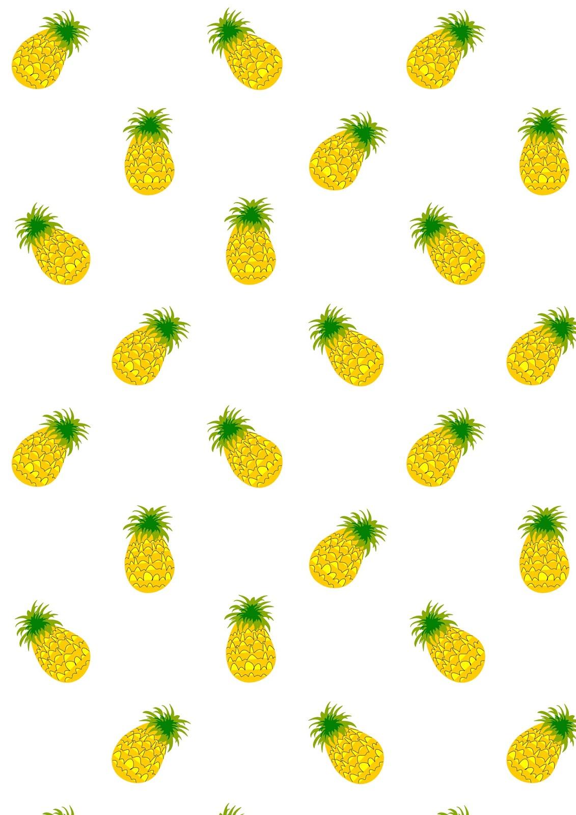 Free digital pineapple scrapbooking paper - ausdruckbares ...