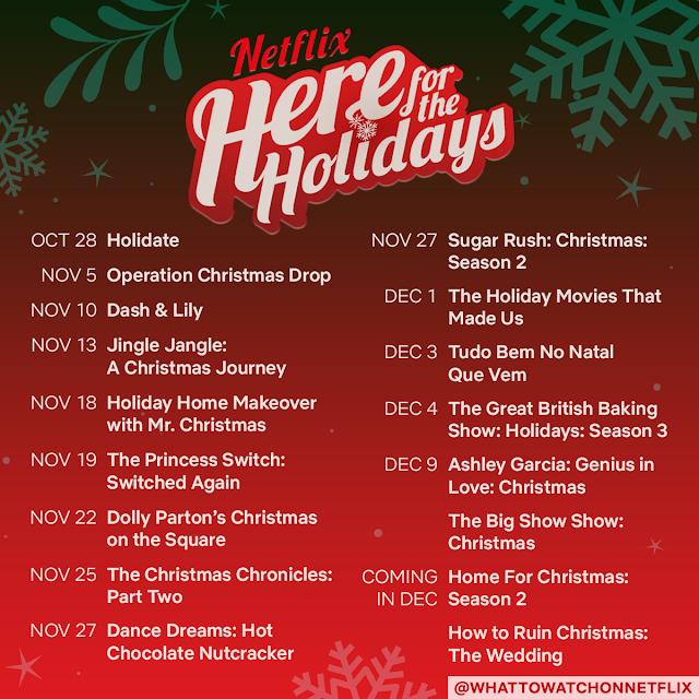 holiday movies, holiday series