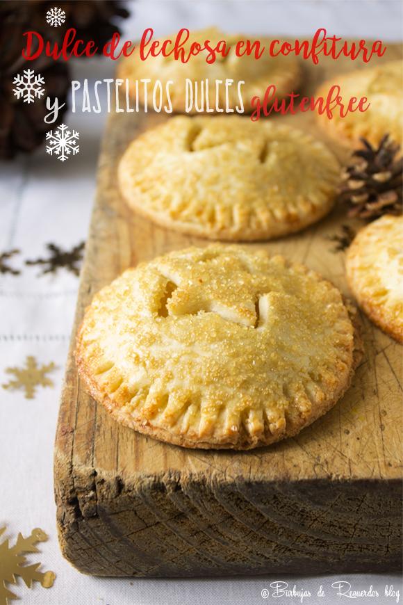 Una variación de nuestra tradicional dulce de lechosa es el relleno de estos deliciosos pastelitos, perfectos para tu mesa de navidad.