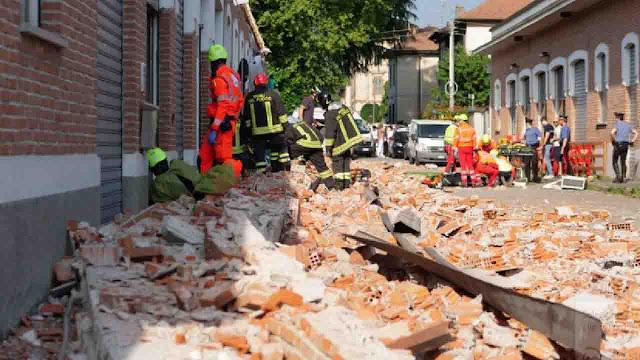 إيطاليا، مصرع أم مغربية وطفليها جراء انهيار جزء علوي لمبنى صناعي ...